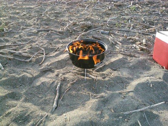 Sea Otter Inn : BBQ on Moonstone Beach