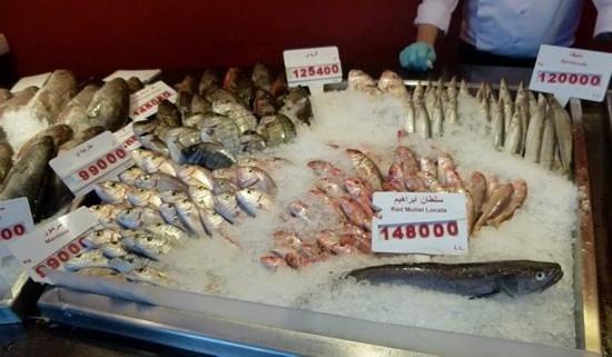 Al Mandaloun Sur Mer: les poissons que vous pourrez choisir !