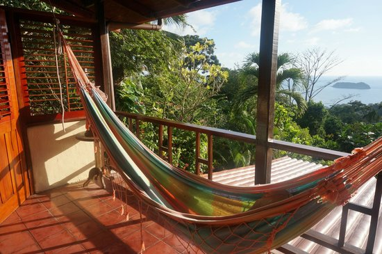 Villas Nicolas: Verandah meets jungle