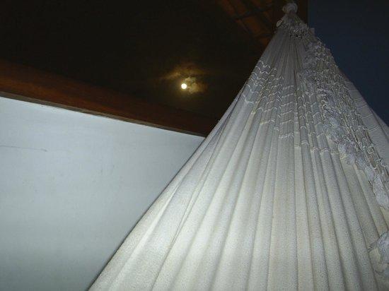 Balanco Club: Rede na varanda do quarto