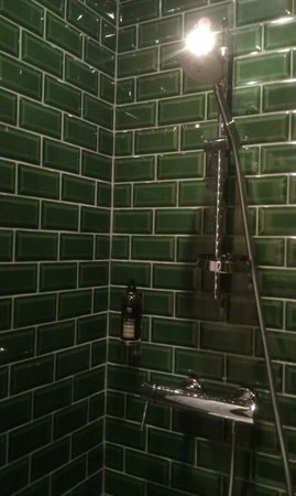 Chateau de la Poste : Shower