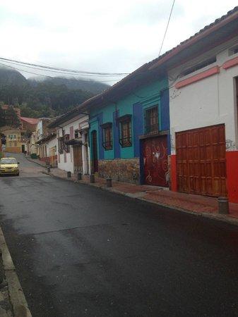 Masaya Hostel Bogotá: Outside Hostel