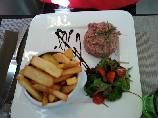 L'Authentic : tartare frites