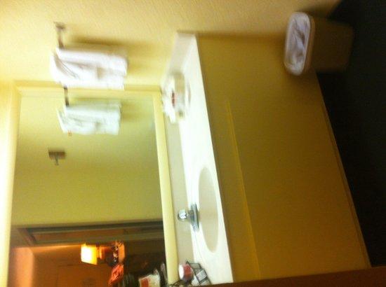 Ramada Florida City: Sink outside bathroom