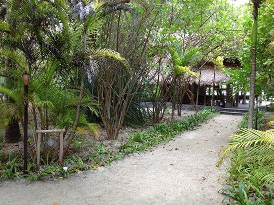 Nikoi Island : Villa entrance