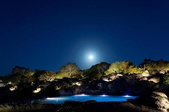 Hotel Fasano Punta del Este : Pool by Night
