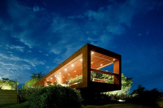 Hotel Fasano Punta del Este : Pool Bar by Night