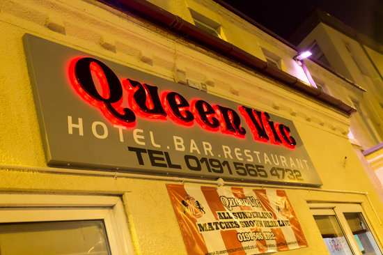 Welcome to the Queen Vic Hotel