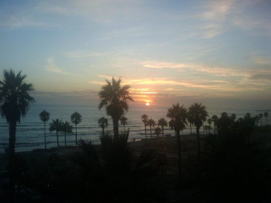 Wyndham Oceanside Pier Resort: Another sunset