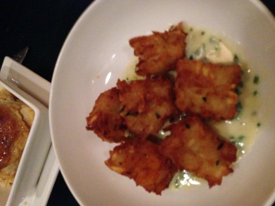Talisker on Main: Home Made Tater Tots...crispy and yummy!