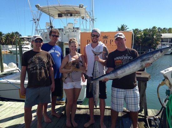 Panoply Sport Fishing & Luxury Charters : Fun day of wahoo fishing