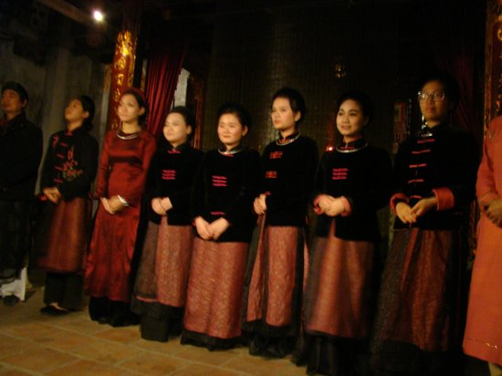 Thang Long Ca Tru Guild : Performers