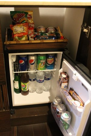 Grand Velas Riviera Maya : Fully Stocked Fridge and Snacks Included