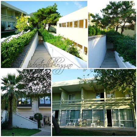 Balcova Termal Otel: Side buildings with rooms