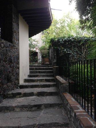 Casa Piedra Bed & Breakfast: entrance