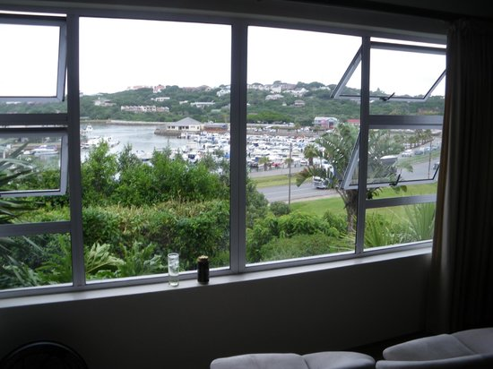 Dockside Guest House: photo taken from our bed
