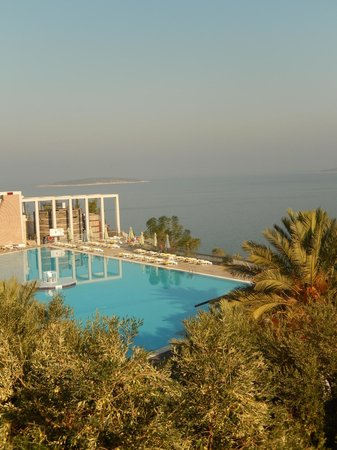 Kervansaray Resort : Basen z gory