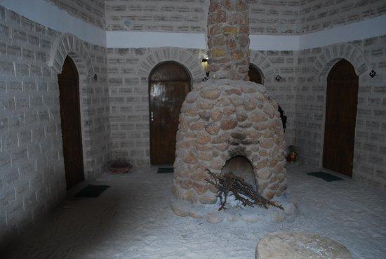 Cristal Samana Salt Hotel: Lareira do hotel