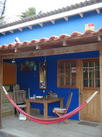 Casa Calexico: Studio veranda