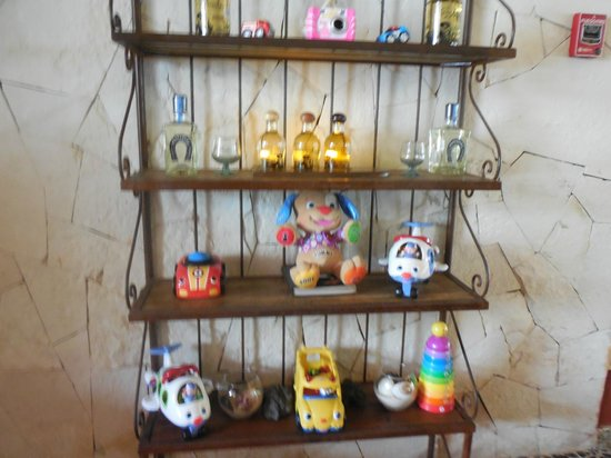 Azul Beach Resort Sensatori Mexico : No need to bring toys as they have Fisher Price toys for your children in the dinning area and c