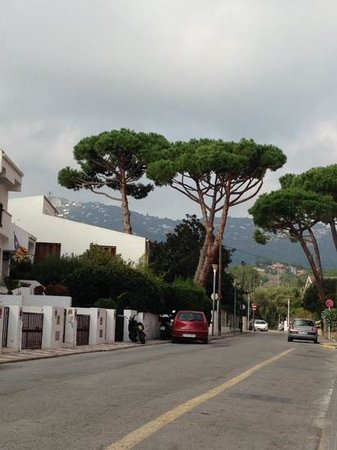 H·TOP Calella Palace : road outside