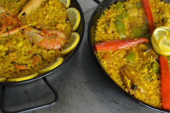 Restaurante Yantar: Paellas, al mejor estilo valenciano.