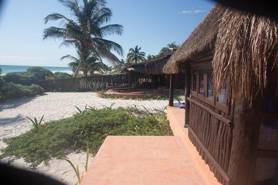 Retiro Maya Villas : Ocean front cabanas