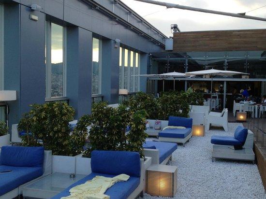 Novotel Barcelona City: Dachgeschoss