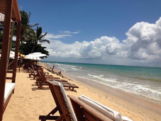 Rio Verde Beach: Rio verde barraca bahia bonita
