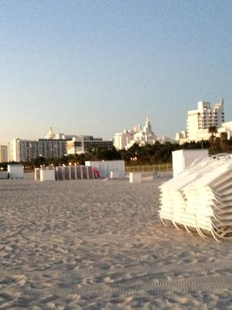 W South Beach : W beach area