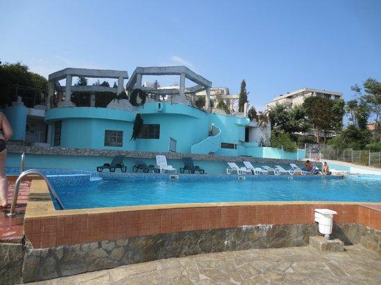 Pomorie Hotel: Открытый бассейн