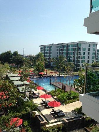 Amari Hua Hin : vista dal balcone