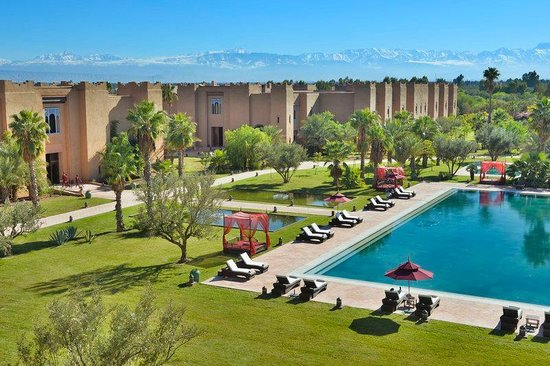 Sahara Palace Marrakech: PWA pool & garden view