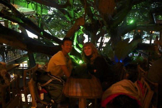 Tree House Restaurante & Cafe: Onder de boom eten