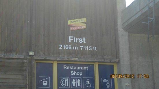 Grindelwald, سويسرا: Grindelwald First....