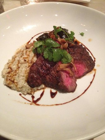 Meat & Potatoes: Delicious steak
