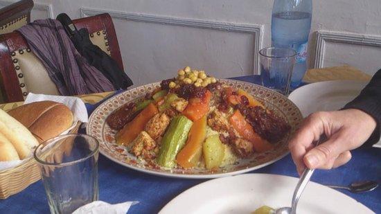 Riad Tafilag: couscous