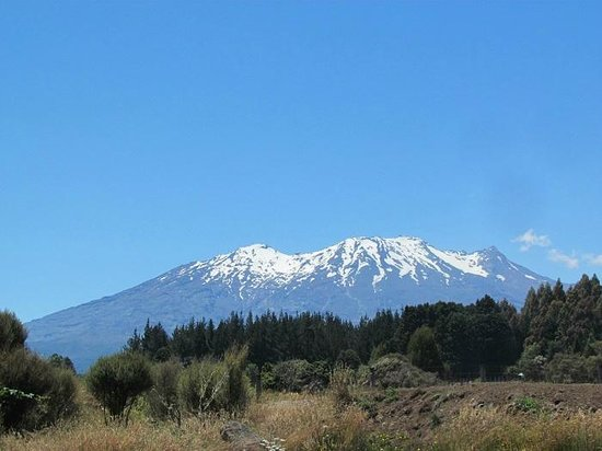 Tongariro Suites at The Rocks: View from Turoa Suite