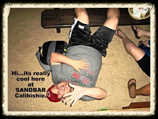 Calibishie Sandbar: Come on down to Sandbar...........