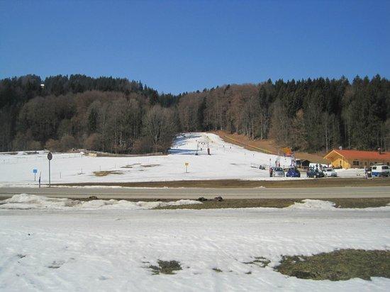 Kampenwand: no inverno