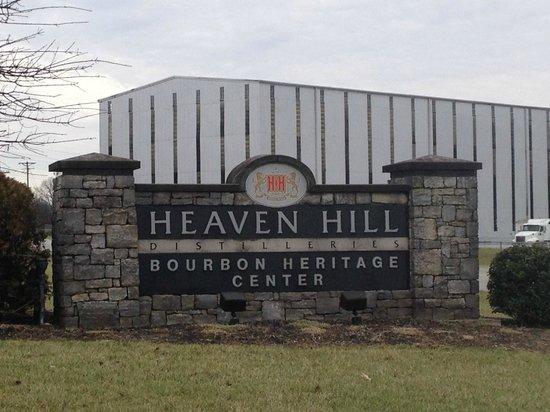 Heaven Hill Bourbon Heritage Center sign