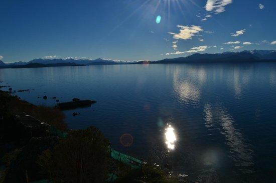 Cacique Inacayal Lake & Spa Hotel: lago nahuel