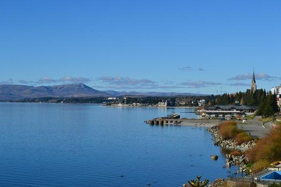 Cacique Inacayal Lake & Spa Hotel: hermosa vista
