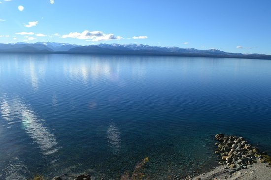 Cacique Inacayal Lake & Spa Hotel: la vista increible