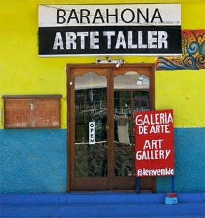 Tungurahua: Barahona Arte Taller, en Baños, Tungurahu, Ecuador