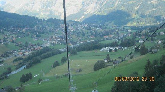 Männlichenbahn Grindelwald: Maennlichenbahn Grindelwald