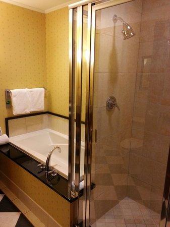 The Battle House Renaissance Mobile Hotel & Spa: Bath and shower