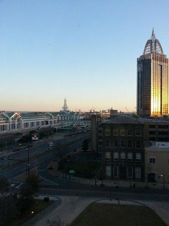 The Battle House Renaissance Mobile Hotel & Spa: Sunset view