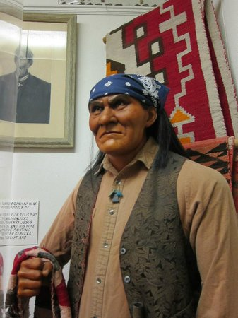 Geronimo Springs Museum: The museum's namesake in was