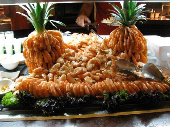 Hotel Riu Palace Riviera Maya: Picture of shrimp on seafood night